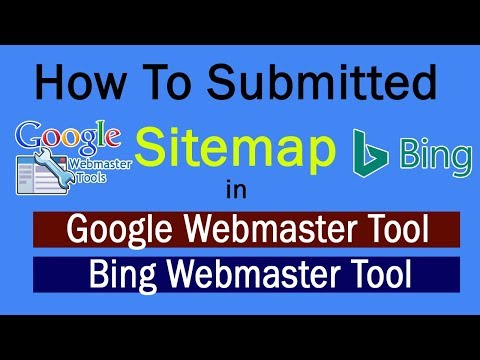 How to Generate and Submit Sitemap to Google & Bing [ HINDI ]