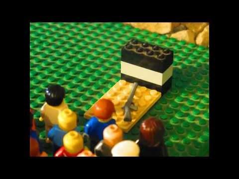 Samuel de Champlain (in Legos)