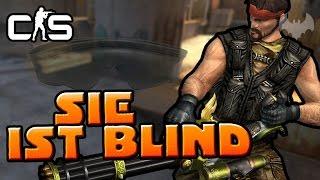 SIE IST BLIND! - ♠ Let's Play CS:GO ♠ - Dhalucard