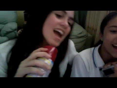 becky y yo cantando boba ni~a nice