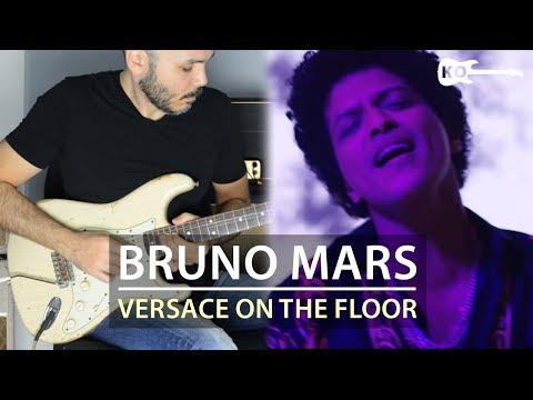 Bruno Mars - Versace on The Floor - Electric Guitar Cover by Kfir Ochaion