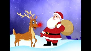 RUDOLPH THE RED NOSED REINDEER: Christmas Songs   Toddler Learning Songs