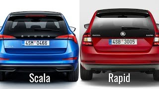 Škoda Scala vs Skoda Rapid Spaceback