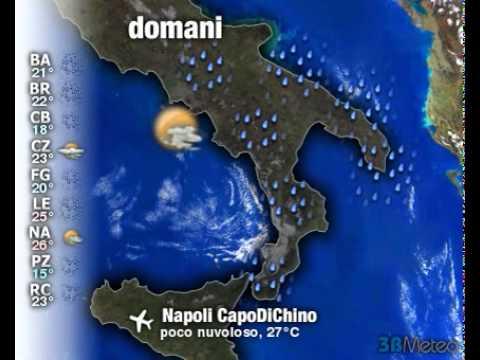 Meteo Italia a 3 giorni del 19/09/2011