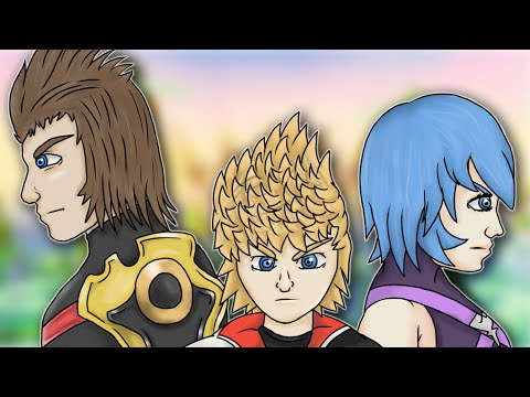 Everything Wrong With Kingdom Hearts Birth by Sleep in Half an Hour