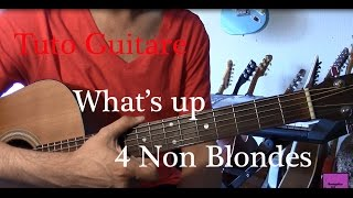 Cours de guitare Pop - Chanson facile 3 accords - What