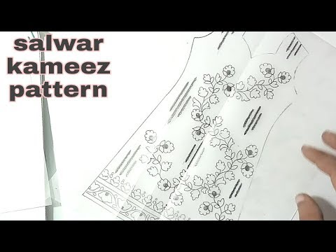 fashion design drawing kameez,how to draw salwar kameez.