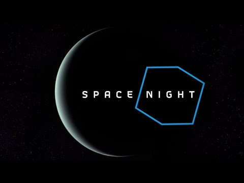 Space Night HD ||The Blue Planet|| New Version