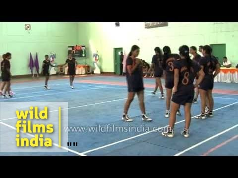 Maharashtra wins the Girls Kabaddi final