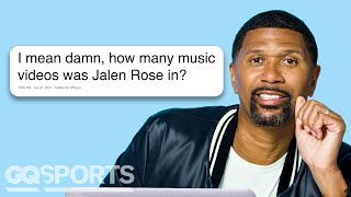 Jalen Rose Goes Undercover on Reddit, YouTube and Twitter | Actually Me | GQ Sports
