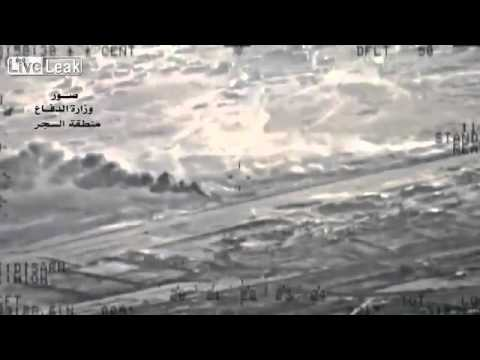 Iraqi air force attacks ISIS in Saqlawiya