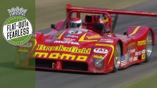 Pirro's V12 Ferrari 333 SP screams up FOS hill