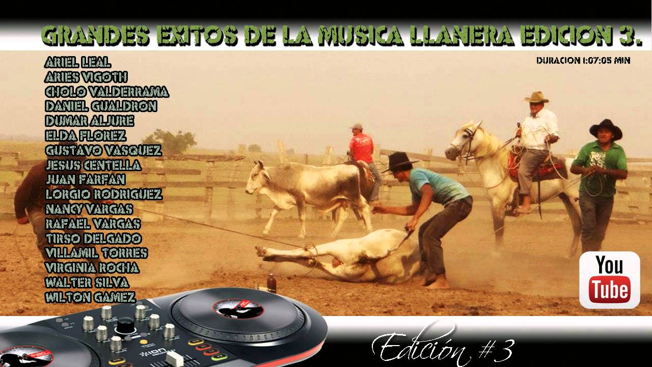 llaneras mix youtube music er