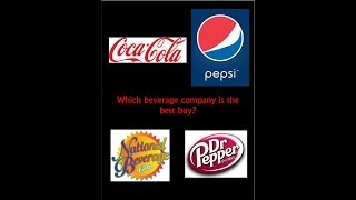 Which beverage company is the best buy?