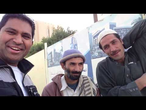 Visiting Local Market in Saudi Arabia