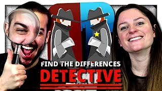 GUILLAUME ET KIM EN MODE DÉTECTIVE ! | FIND DIFFERENCES : DETECTIVE !