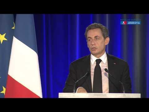 Nicolas Sarkozy en meeting en Anjou