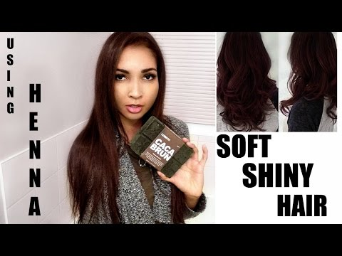 LUSH HENNA DYE REVIEW   Does it work on dark hair?