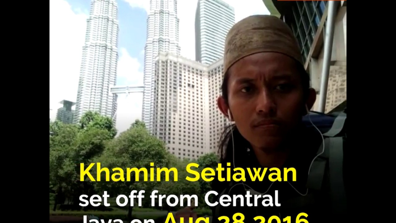 Indonesian Man Arrives in Makkah for Hajj After Walking 9,000km