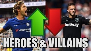 Premier League Heroes And Villains (Matchweek 2)