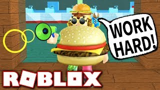 BECOMING THE ADMIN OF A RESTAURANT!! (Roblox Fast Food Simulator)