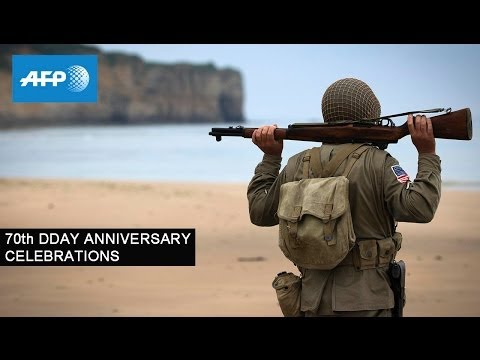 70th DDAY ANNIVERSARY CELEBRATIONS - June 6, 2014