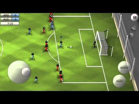 Stickman Soccer 2014 - Argentina 1 / Russia 0