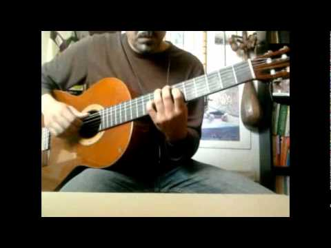 Someday My Prince Will Come - (in 4/4) Solo Jazz Fingerstyle Guitar