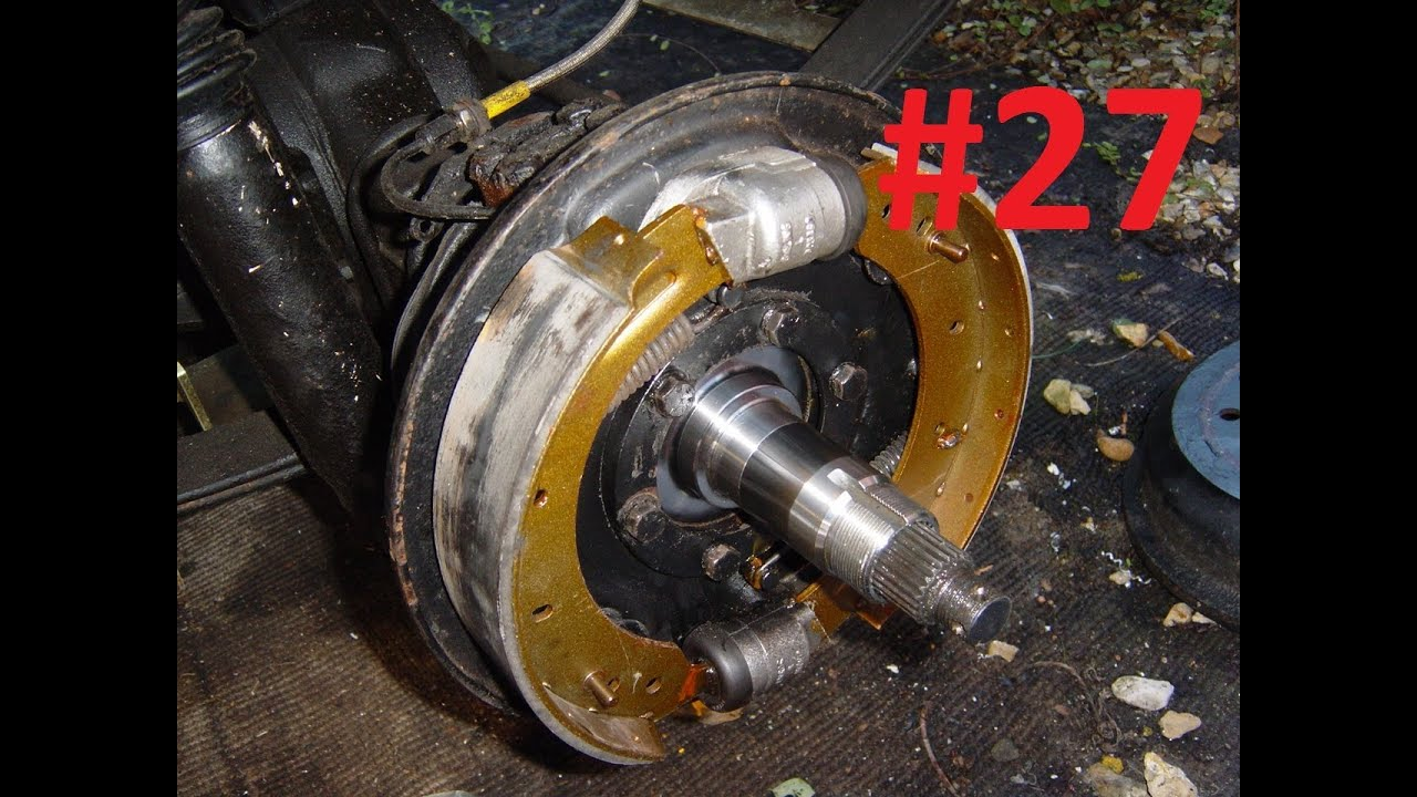 Land Rover Series 3 Restoration Brakes 27 Youtube