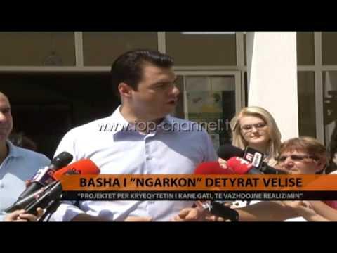 Basha `i ngarkon` detyra Velisë - Top Channel Albania - News - Lajme