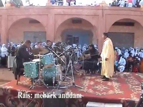 الرايس الشاب مبارك أنضام الإفراني في ملتقى بوطروش للشعر الأمازيغي