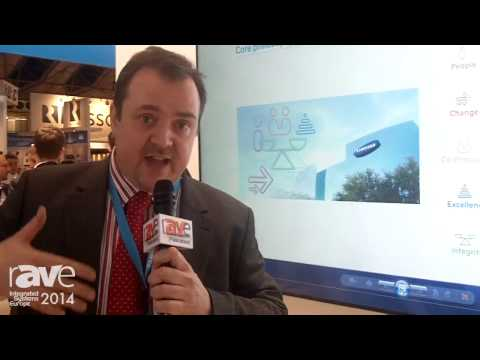 ISE 2014: Samsung Presents Electronic Pin Pointer with Large Scale Display