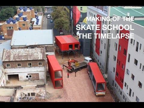 Making of the Skate School: The Timelapse
