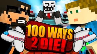 Minecraft: 100 WAYS TO DIE CHALLENGE - AIRPLANE DEATH!!