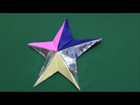 """Overly easy! """"Star"""" How to make超簡単 ..."""