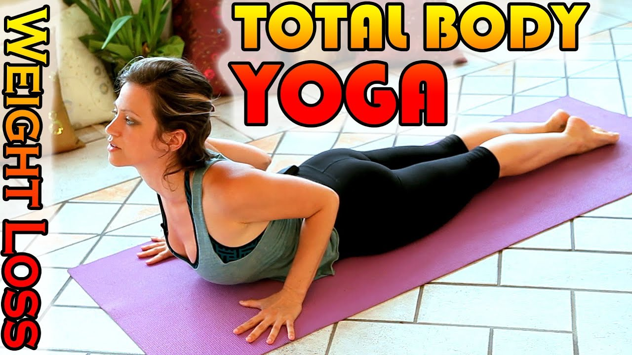 Weight Loss Yoga Workout For Beginners, 15 Minute Total ...