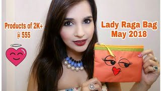 *GIVEAWAY OPEN* | Lady Raga May 2018 | Unboxing & Review | @ 555 | Discount & Gifts