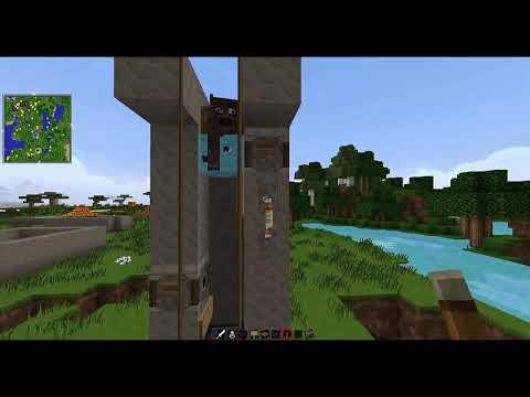 MineCraft 1.7.5 Matadero de Vacas Automatico