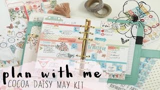Plan with Me-Cocoa Daisy May Kit | OhSoFawn