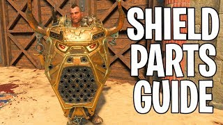 How To Build The SHIELD on IX Zombies (Black Ops 4 Zombies Shield Parts Tutorial Guide)