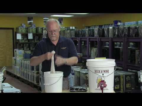 Winemaking Lesson 10 - adding grapes