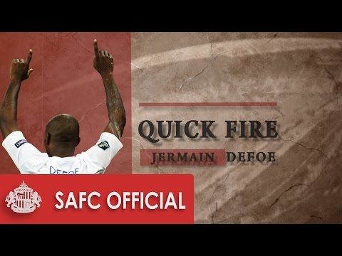 International Quick Fire: Jermain Defoe