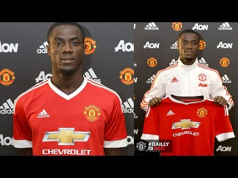 OFFICIAL ERIC BAILLY SIGNS FOR MANCHESTER UNITED F.C.