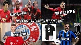 Tin bóng đá|Chuyển nhượng 13/08|Sanchez có thể đưa MU trở lại TOP 4?, MU vượt qua mối lo hàng thủ