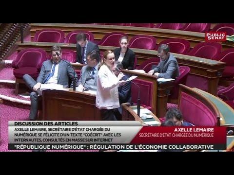 République numérique - Les matins du Sénat (03/05/2016)
