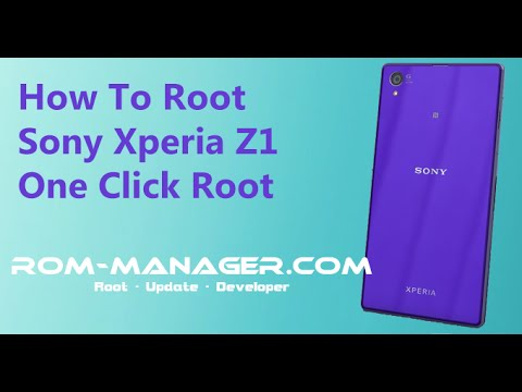 Root Sony Xperia Z1 and Z1 Compact C6902/C6903/C6906/C6943/D5503!
