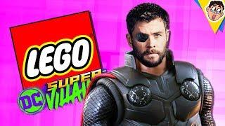 Criando O THOR de GUERRA INFINITA Em LEGO DC Super Villains !