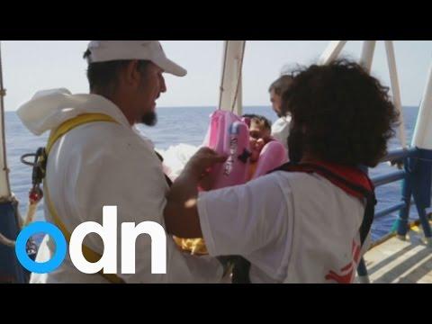 A boat near Libya capsizes carrying 600 migrants, 25 dead