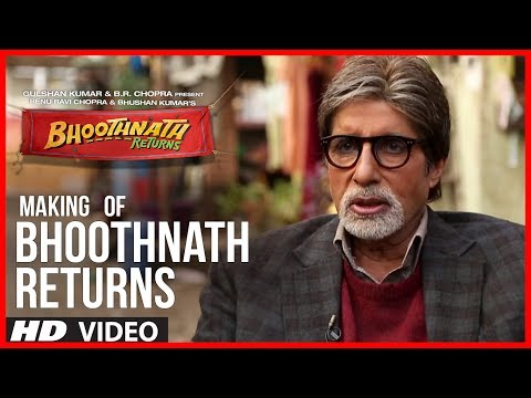 Making Of Bhoothnath Returns | Amitabh Bachchan, Boman Irani, Parth Bhalerao video