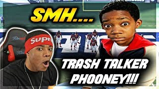 FAKE TRASH TALKER EXPOSED! You won